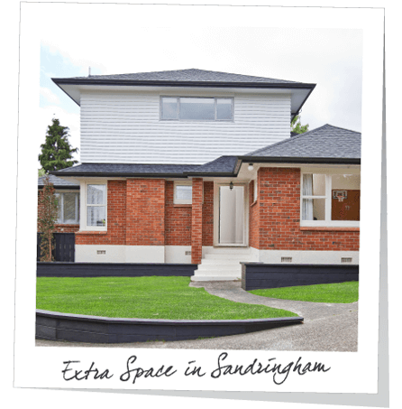 extra space in sandringham