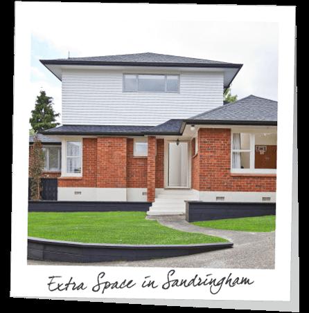 extra space in sandringham